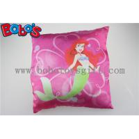 Buy cheap High Quanlity Pillow Case Soft Baby Cushion with Printting Little Mermaid Girl product