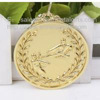 China Gold Karate medals for sale, blank engraved karate medals and medallions wholesale, wholesale