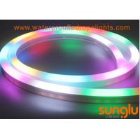 Buy cheap RGB LED Neon Rope Light 2835 80 LED / M DC 24v LED Tape Light For Holiday from wholesalers