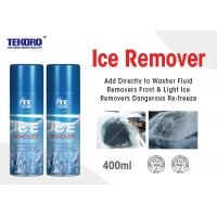 Buy cheap High Performance Ice Remover Spray For Automotive Wiper Blades / Headlights / Mirrors product