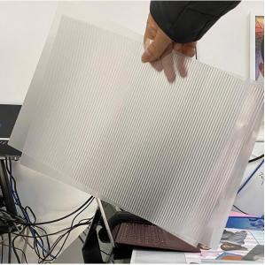 Buy cheap 3D factory supply100 lpi lens sheet 0.35mm PET film materials lenticular plastic sheets lenticular sheets for sale product