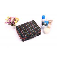Buy cheap Polyester Travel Cosmetic Portable Makeup Bag , Brush Pouch Toiletry Kit Cute Women Carrying Case product