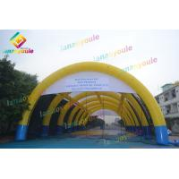 China 33m Inflatable Event Tent Water Resistant For Parties , Birthday , Clubs on sale
