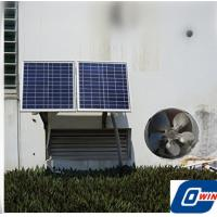 25 Watt Air Conditioning Solar Vent Fan With 12V Brushless DC Motor For Home Use for sale