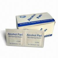 Buy cheap Alcohol Pad, Available in Various Sizes product