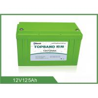 Buy cheap 12V 125Ah Bluetooth Lithium Battery Pack Lifepo4 Material Long Cycle Life product