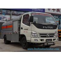 Buy cheap 5 Speed Foton 4 x 2 Refuelling Chemical Tanker Truck With Air Braking product