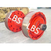 Buy cheap 10ton 20ton Smooth Wire Rope Winch Drum With Split Type Lebus Groove Sleeve product