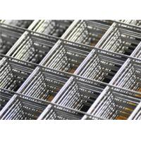China Galvanized Wire Welded Fence Panel 2 × 6 feet for Radiant Floor Heating System on sale