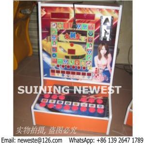 Máquinas tragaperras de juego de los juegos de arcada del bote del casino de fichas del amor del comprador de Congo Ghana pequeñas