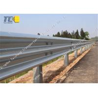 Buy cheap Corrosion Resistance W Metal Beam Crash Barrier Cold Galvanized Spray product