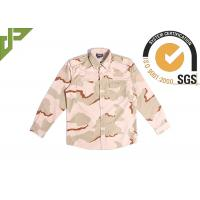 Buy cheap Waterproof Desert Camo Tactical Combat Uniform 3 Color Scratch Resistant from wholesalers