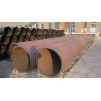Buy cheap Black Painted LSAW / ERW Welded Steel Pipe , Seamless Carbon Steel Pipe For Construction product