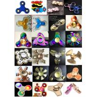 Buy cheap Fast delivery colorful ABS Plastic Tri Spinner EDC Fidget Hand Spinner Toy product
