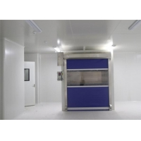 Buy cheap PVC Fast Shutter Door 27m/s Speed Cargo Air Shower Tunnel With CE Certification product