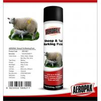 Buy cheap Eco Friendly Marking Spray Paint , Fast Drying Pig / Cattle / Sheep Marking Paint product
