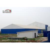 Buy cheap Blue Color 1000 Square Meter Warehouse Marquee Canopy Tent With Steel Sandwich from wholesalers