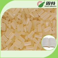 Buy cheap Eva Siding Hot Melt Adhesive / Vinyl Siding Industrial Hot Melt Glue In Yellow product