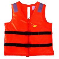 Buy cheap Red Offshore Jet Ski Life Jackets With Waterproof Oxford Cloth Materials product
