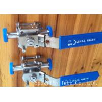 Buy cheap Dn25 Tp316l Threaded Stainless Steel Ball Valve Sanitary Bpe Valves Easy Operation product