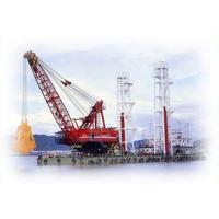 Buy cheap Clamshell Grab Dredger Offshore Marine Cranes Ocean River Construction Floating Crane product