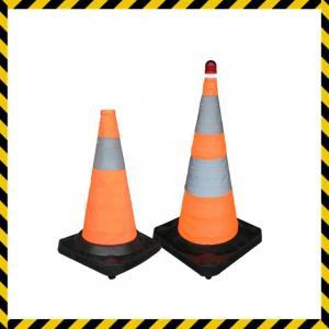 Buy cheap barrera plegable de goma del tráfico por carretera product