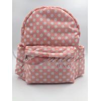 Buy cheap White Dots 190T Polyester Kids School Backpacks Waterproof Lightweight product