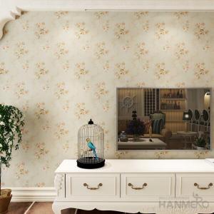 Buy cheap Simple Beautiful Flower embossed Waterproof Vinyl Wallpaper Coverings from wholesalers