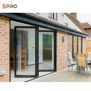 Buy cheap Powder Coated Scissor Gate Door Bi Fold Doors ISO9001 Standard product