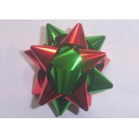 "Multi material and colors gift decoration star bow christmas decoration 2"" - 4"""