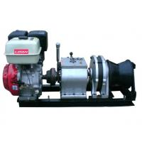 China 5 Ton Fast Line Speed Gasoline Engine Winch for Power Construction wholesale