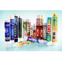 Buy cheap Colored Offset Printing Toothpaste Tube Packaging, Plastic Laminated Tubes product