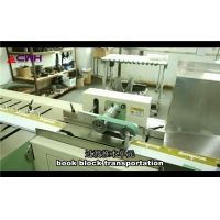Quality Cold Glue 65kw School Notebook Making Machine for sale