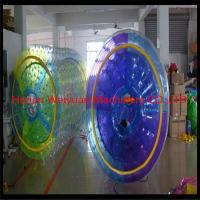 Quality inflatable water roller people walking on water TPU water toys for sale