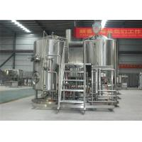 China 500L Cider Equipment International Standards 304 SS Body Material on sale