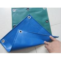 Buy cheap Polyester Tent Fabric Canvas Roof Material Pvc Coated Polyester Tarpaulin product