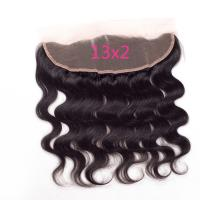 China Black In 13X2 Body Wave Lace Frontal Closure Cheap Human Hair Frontal Lace Closure on sale