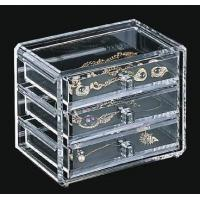 Buy cheap Quick Delivery Acrylic Jewelry Box With customer's Logo product