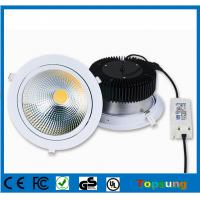 Buy cheap 100-277v square COB led downlight 50w high lumen led downlight with CE ROHS certificate product