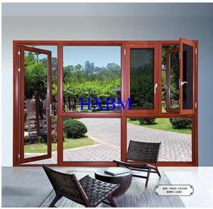 China Architects Aluminum Clad Wood Windows With Double / Triple Glazed Glass on sale
