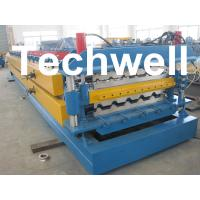 Buy cheap High Grade 45# Axis Double Layer Roll Former / Roll Forming Machine For Roofing Sheets product