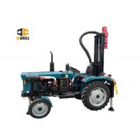 Buy cheap 200m Tractor Mounted Water Well Drilling Rig 1.5m Drill Rod Customized Color from wholesalers