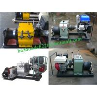 China Asia Cable pulling winch, CABLE LAYING MACHINES,Cable bollard winch on sale