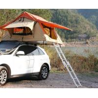 Buy cheap Family 4 Person Roof Top Tent Large Capacity 145x125x28 Cm Fold Size product