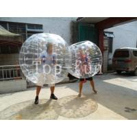 China Human Inflatable Bumper Bubble Ball / Hamster Ball For Rental Business , Race Sport Games on sale