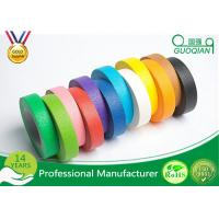 Buy cheap High flexibility Rainbow Coloured Masking Tape For Painting , Easy To Remove product