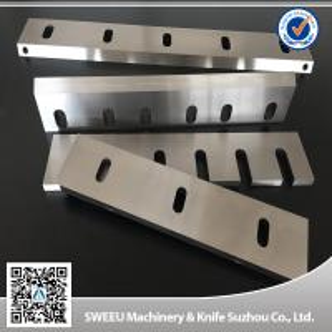 PET Flakes Plastic Granulator Blades HRC 56-58 Hardness High Performance