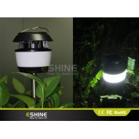 Buy cheap White or Black Solar Lawn Decorative Solar Mosquito killer Garden Light Polysilicon 0.55w with ABS product