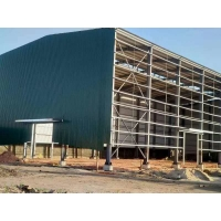 Buy cheap S275 S355 Office Workshop Steel Structure With Cladding Sheets product