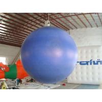 Buy cheap 0.18mm helium PVC Giant Neptune  Inflatable Helium Balloons ,Round  shaped For Outdoor Celebration and special events product